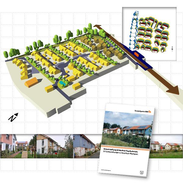 Solarsiedlung Kupferheide - Bild 1
