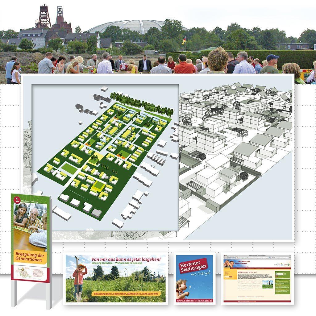Hertener Siedlungen - Bild 1