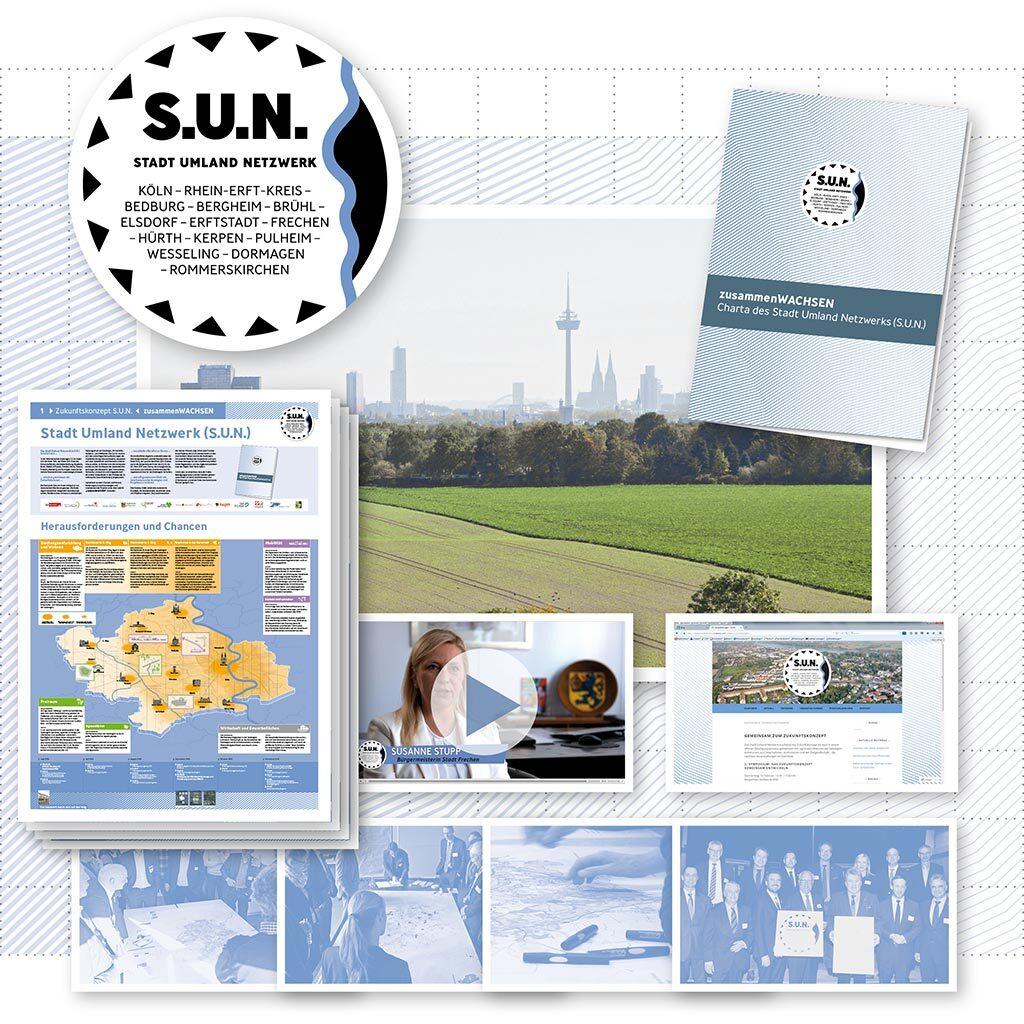 Zukunftskonzept für das Stadt Umland Netzwerk (S.U.N.) - Bild 1