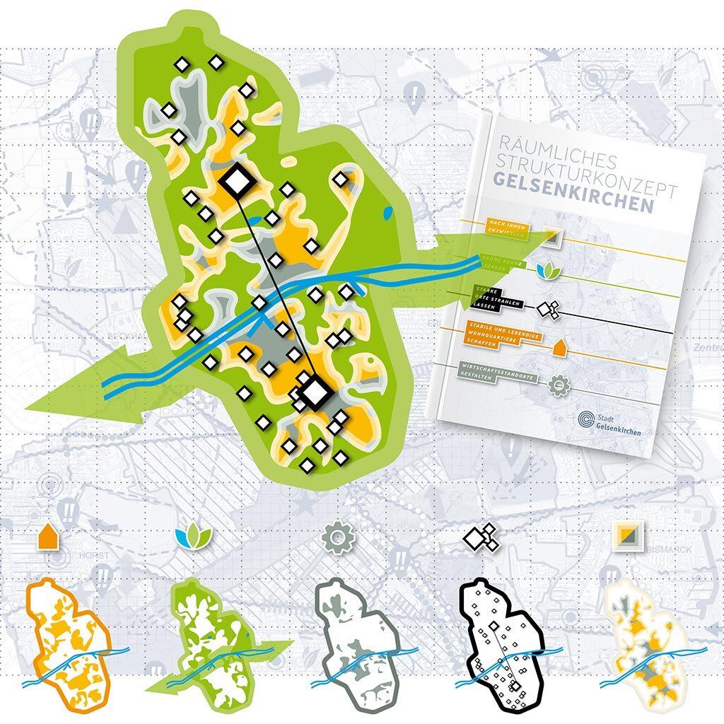 Räumliches Strukturkonzept Gelsenkirchen (RSK) - Bild 1