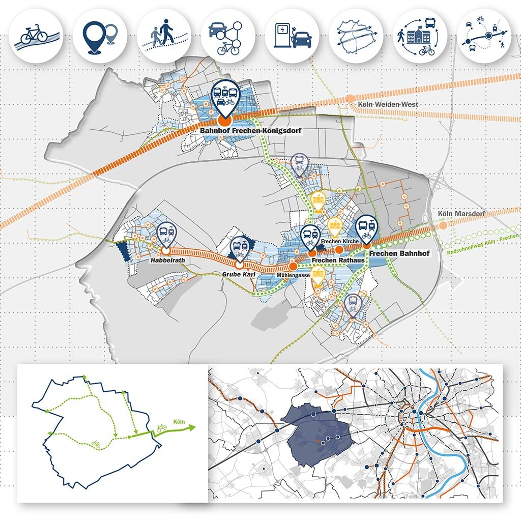 Klimaschutzteilkonzept Mobilität Frechen - Bild 1